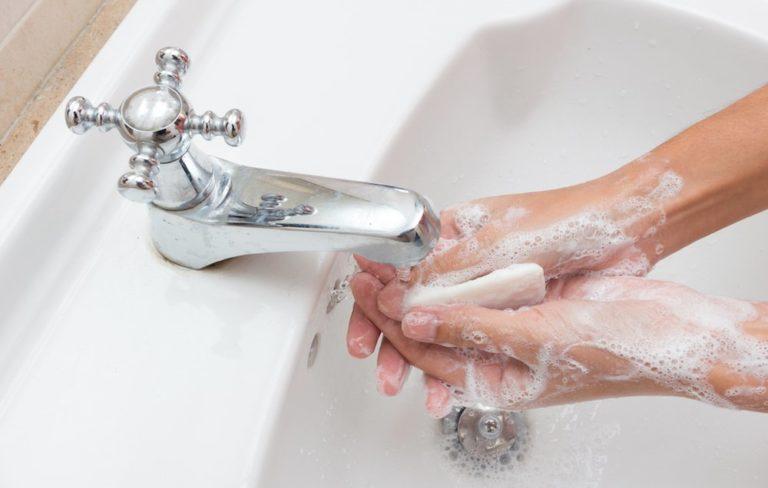 hand washing way