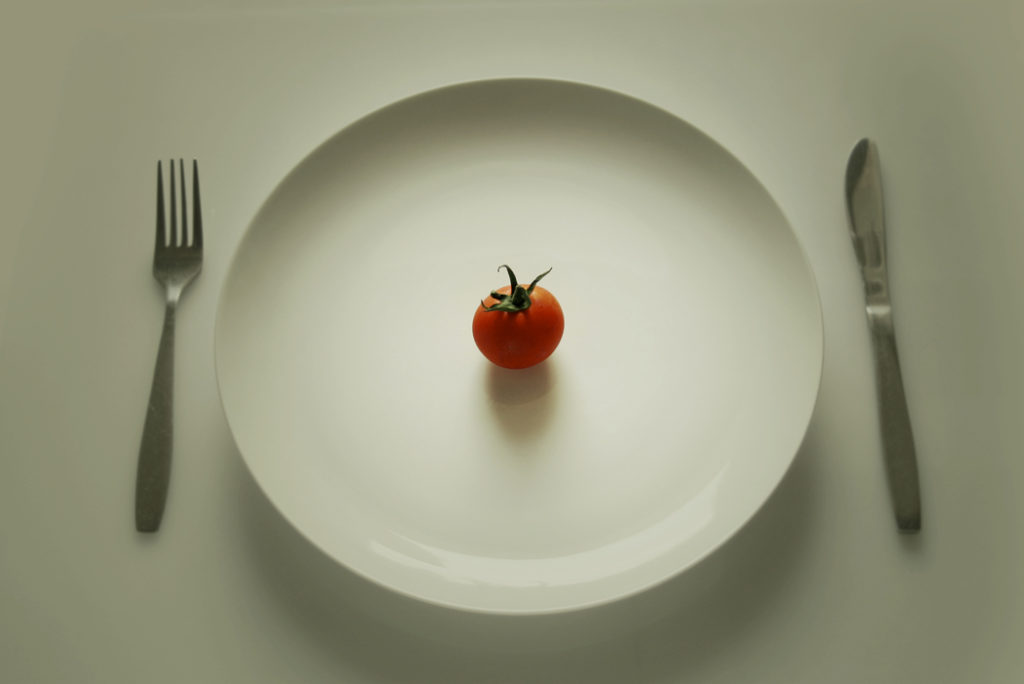 Restrictive-Diet-Tomato-on-a-Plate
